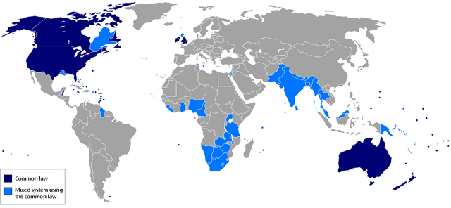 Copyright, les pays de common law (droit commun)