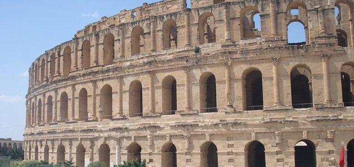 Kahina. Amphitheatre dEl Jem